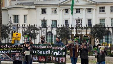 Photo of Rights activists stage protest outside Saudi Consulate in US