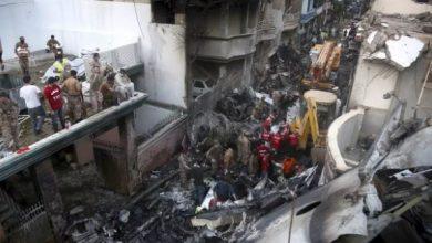 Photo of 97 killed as plane crashes into residential area near Karachi airport