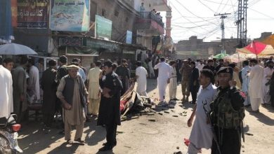 Photo of At least 17 injured in IED blast in Parachinar's Turi Bazar