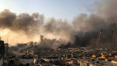 Photo of Huge blast rocks Lebanese capital
