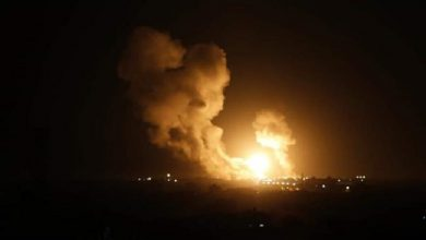 Photo of Israeli fighter jets conduct fresh airstrikes against positions in besieged Gaza Strip