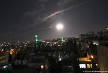 Photo of Syrian Air Defenses confront an Israeli aggression on Misyaf