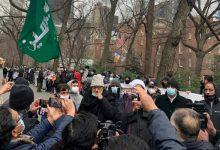 Photo of Protesters in New York condemn Shia Hazara genocide in Pakistan