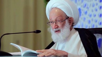 Photo of Top Bahraini cleric renews call for immediate release of jailed political prisoners amid coronavirus pandemic