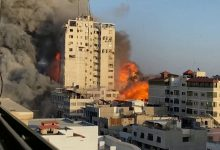 Photo of Israel pounds Gaza as deadly conflict intensifies; Palestinian fatalities cross 100
